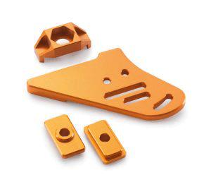 CNC Parts anodized
