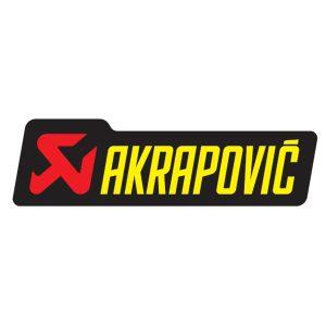 Akrapovic sticker
